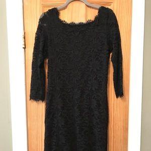 Black Lace Dress